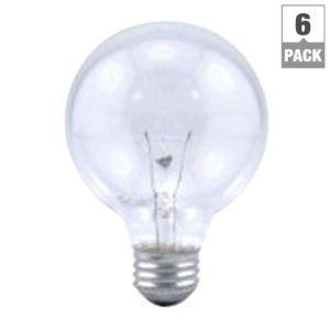 Sylvania 60 Watt Clear Light Bulbs