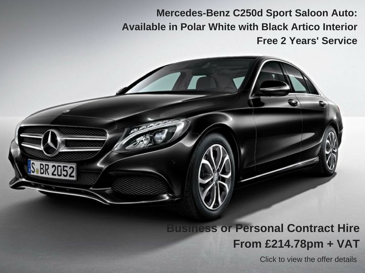 Charmant Mercedes Benz C Class Saloon   Free Service Offer!