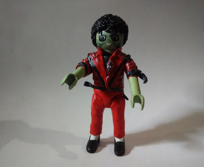 Custom Playmobil Michael Jackson - Thriller