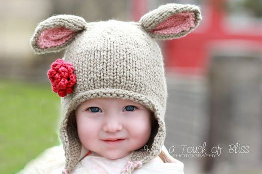 5 adorable knit hats for little girls, perfect! Kenley loves hats!