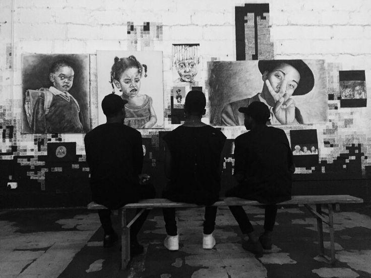Exhibition  #ArtByTebogoMbewu #SouthAfricanArtist  #Art
