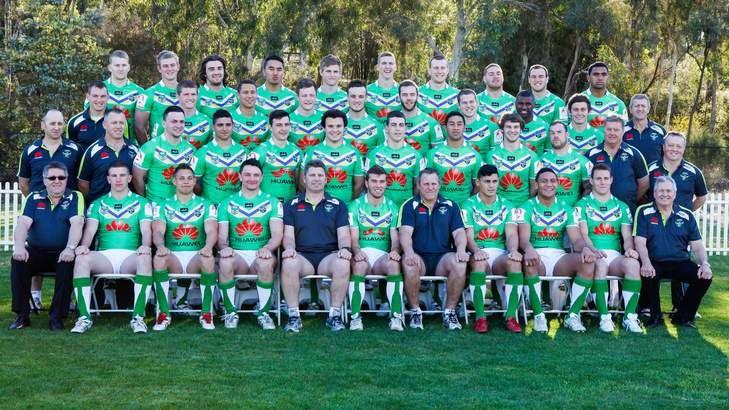 Canberra Raiders minor premiership winning Holden Cup under 20s team 2013.