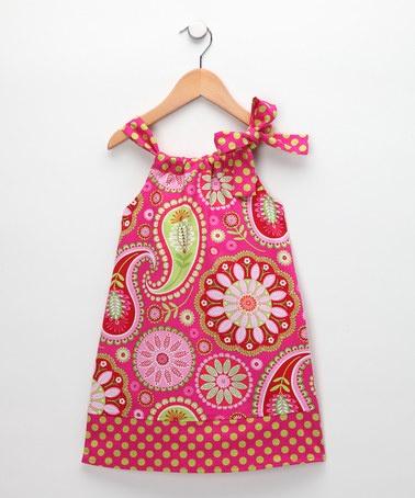 {Hippo Hula} Adorable Pink Paisley Hailey Dress for Infant, Toddler & Girls, $13.49 ... SooooOOoooO cute.