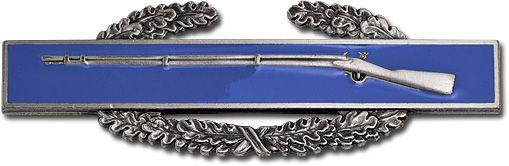 Combat Infantryman Badge, az amerikai hadsereg gyalogságának tűzkeresztségi jelvénye