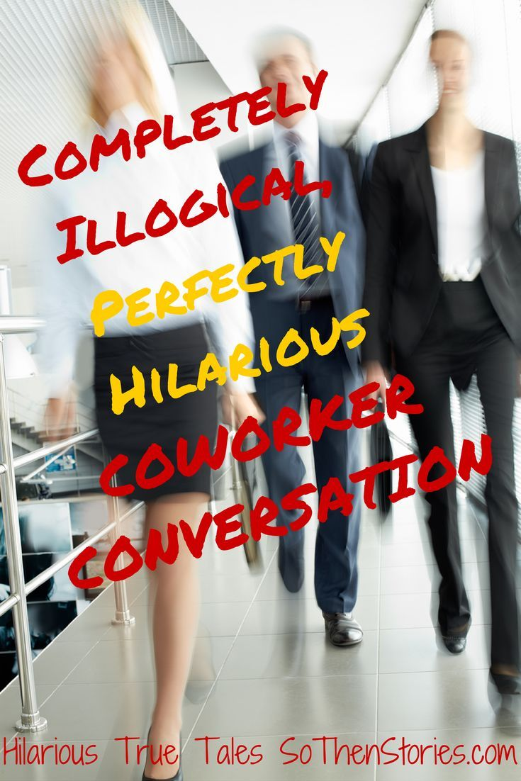 Conversation for a coworker upskirt 3