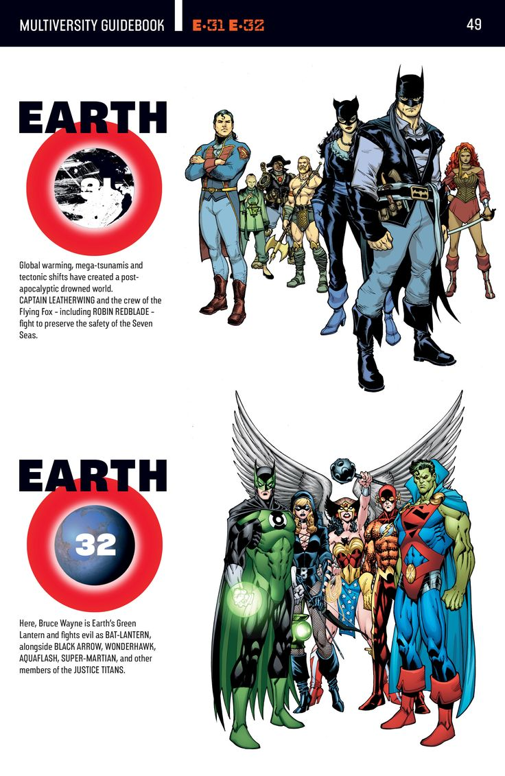 Todas as 52 Terras da DC, finalmente - Baile dos Enxutos