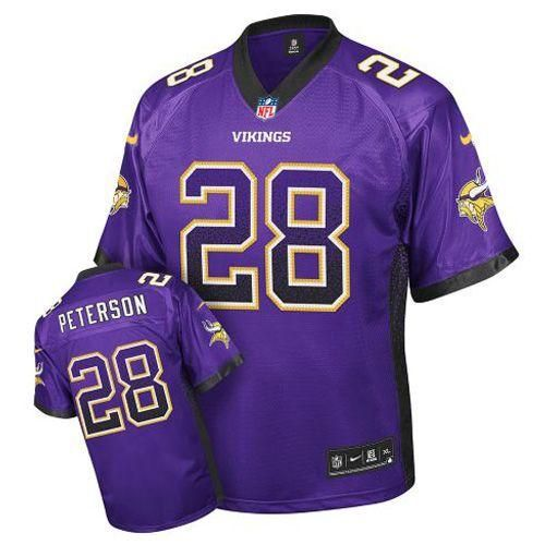 nike minnesota vikings 28 adrian peterson purple drift fashion elite nfl jerseys wholesale price
