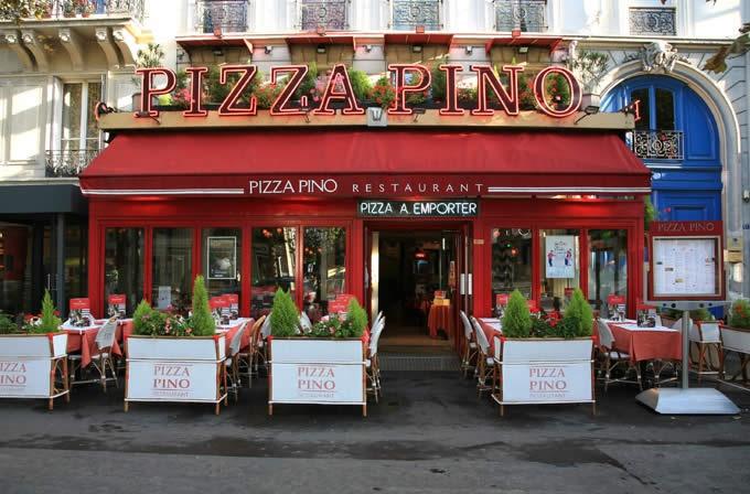Restaurant pizza pino Paris Montparnasse