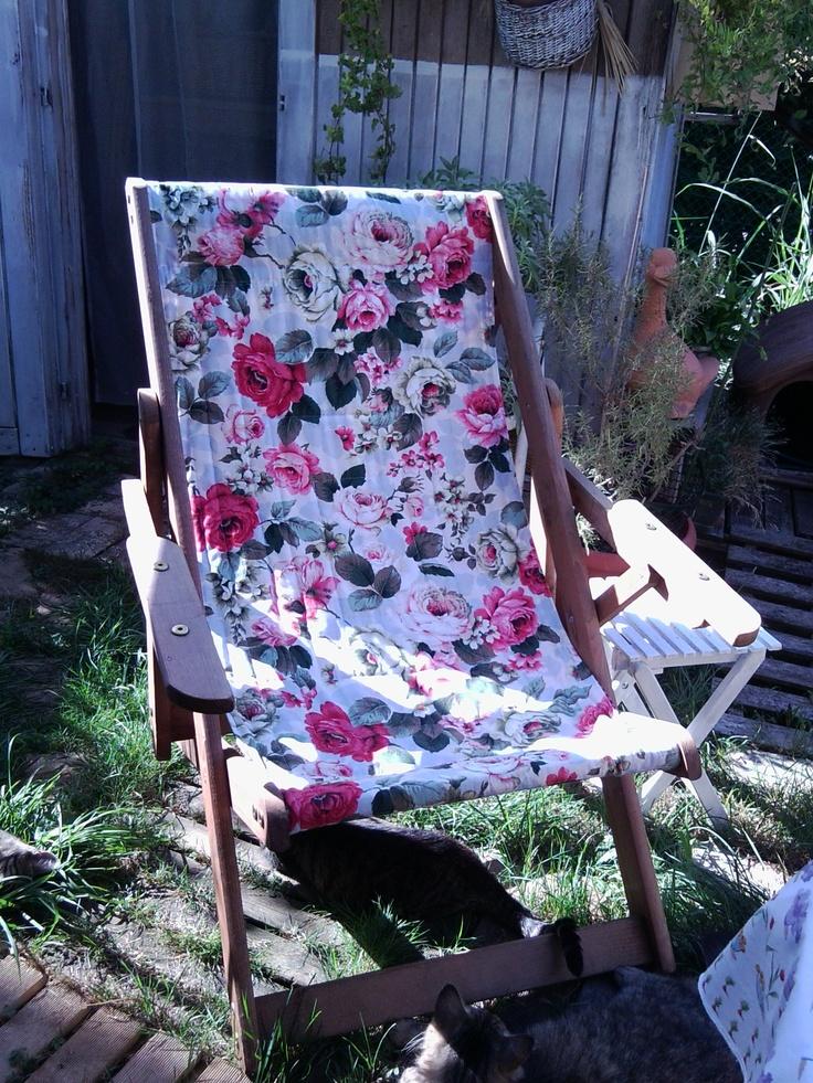 Deck-chair.