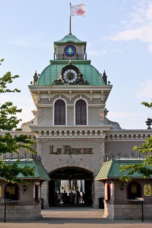 La Ronde Amusement Park Entrance Montreal
