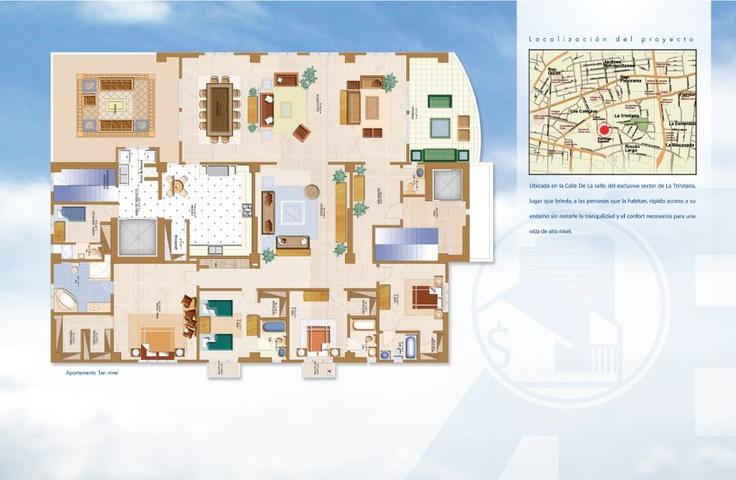 La Trinitaria, Santiago de los Caballeros  Torre Valdepeñas  Año de Construcción : 4  Dormitorios : 4  Baños : 4 1/2  Parqueo : 3  Metros Cuadrados : 465 m2  Metros de Construcción : 426 m2  Sector , Ciudad