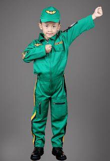 Seragam Pilot Junior