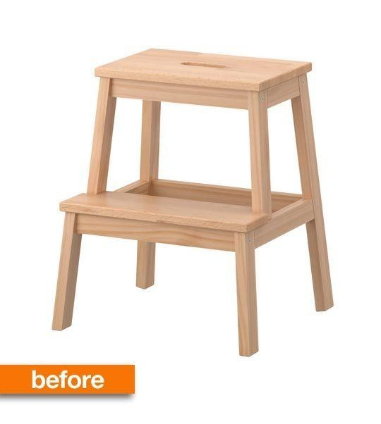 How This IKEA Bekvam Stool Solved a Kitchen Problem Apartment Therapy
