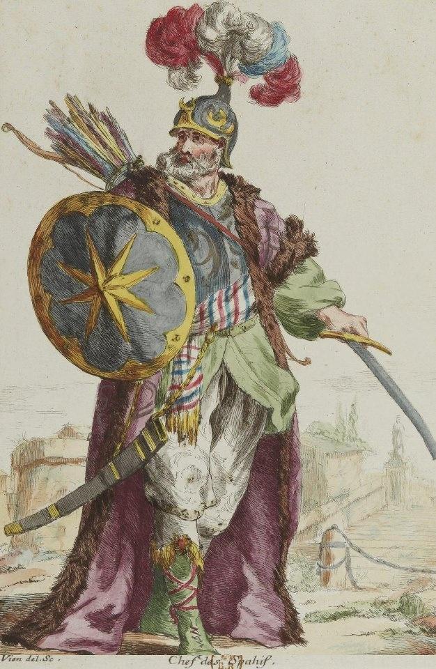 Chief of Ottoman Sipahis