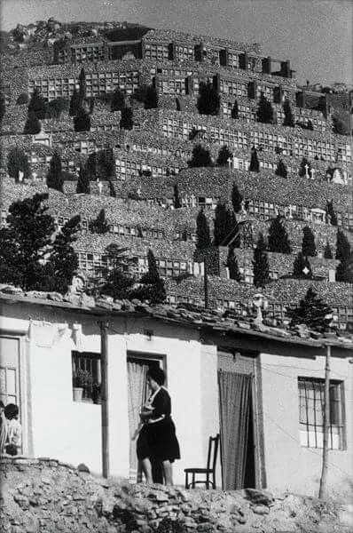 1962,barraques i Cementiri de Montjuich