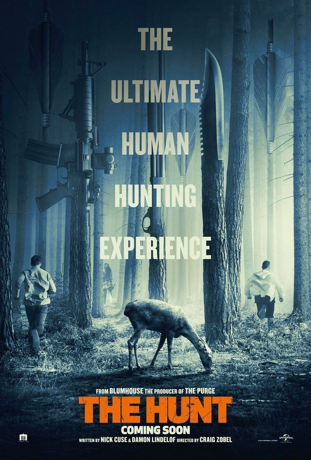 The Hunt 2020 864 X 1280 Movieposterporn Free Movies Online Movies Online Full Movies