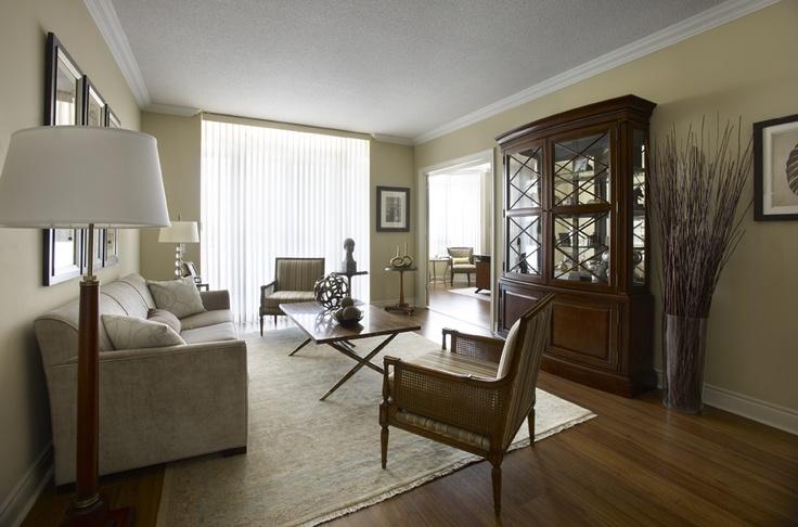 Classic elegance in this renaissance condo living room in richmond hill toronto condo for Interior decorator richmond va