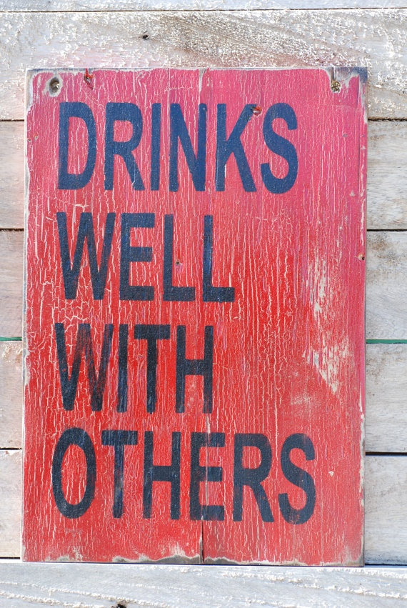 Drinks well with others can this