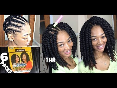 Authentic Synthetic Hair Crochet Braids Perfect 60 60X Jumbo New Braid Pattern For Crochet Faux Locs