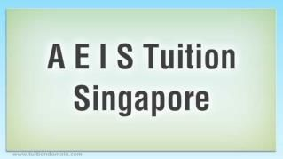 AEIS #Tuition Will Offer Customized #Attention for Your #Child