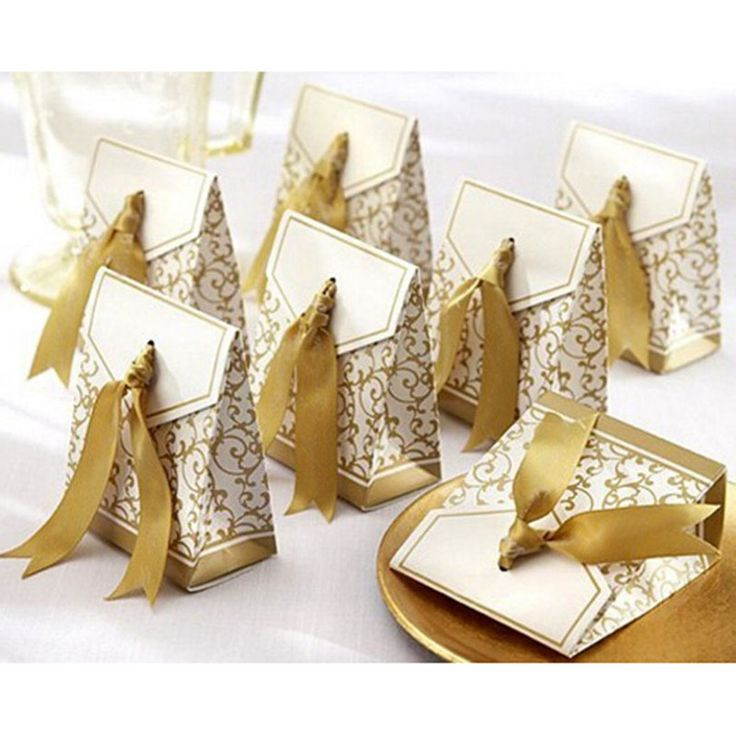 ==> [Free Shipping] Buy Best 100pcs/pack Gold Wedding candy Boxes Casamento Wedding Favors Gifts BoxesEvent & Party Supplies Online with LOWEST Price | 1000001212113