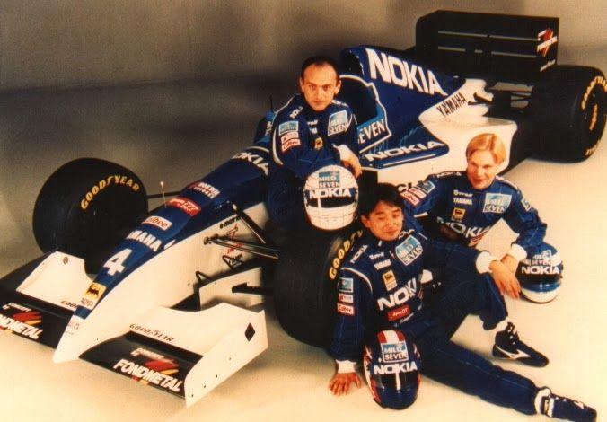 Tyrrell 1995 Gabriele Tarquini, Ukyo Katayama, Mika Salo