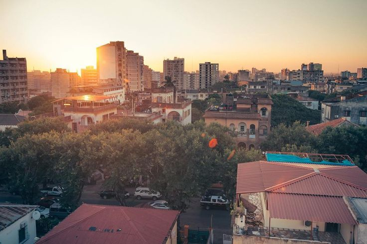 I love the feeling of freedom when you are standing on a rooftop and the sun is setting a slight breeze is blowing and the birds are singing. [#maputo] [#africa] [#mozambique] [#sunset_madness]