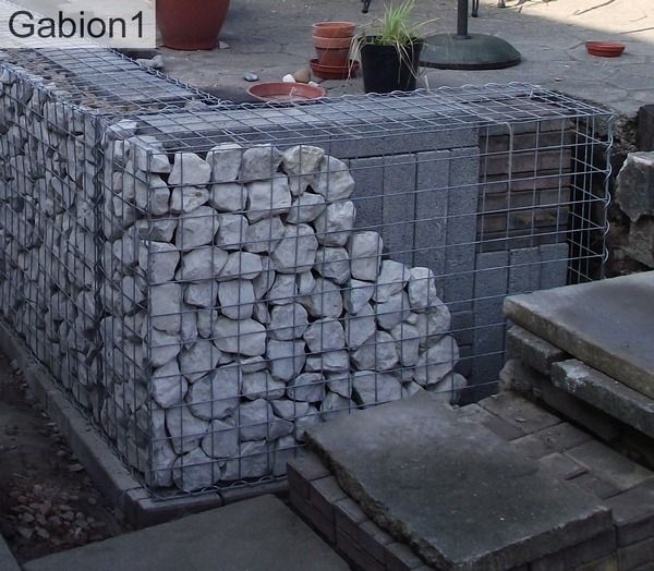 109 Best Images About Gabions On Pinterest Fire Pits