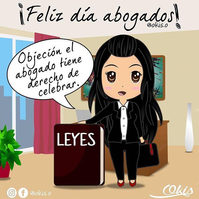 En cada país el día del abogado se celebra en días diferentes pero HOY 3 de febrero se celebra el día internacional de los amantes de las leyes y defensores de todos los derechos. Feliz día a todos los abogados del mundo.  #illustration #ilustracion #diainternacionaldelabogado #pelaeldiente #motivacion #l4l #abogado #dibujos #frases #derechos #instachile #day #arte #ilustree #vector  #caricatura #hashtag #color #Venezuela #leyes #drawing #painting #happyday #okisdibujitos #inspiracion…
