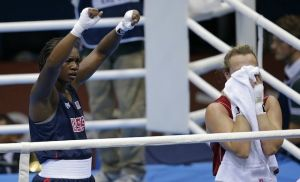 Claressa Shields Wins First-Ever Gold Medal For U.S. Women's Olympic Boxing