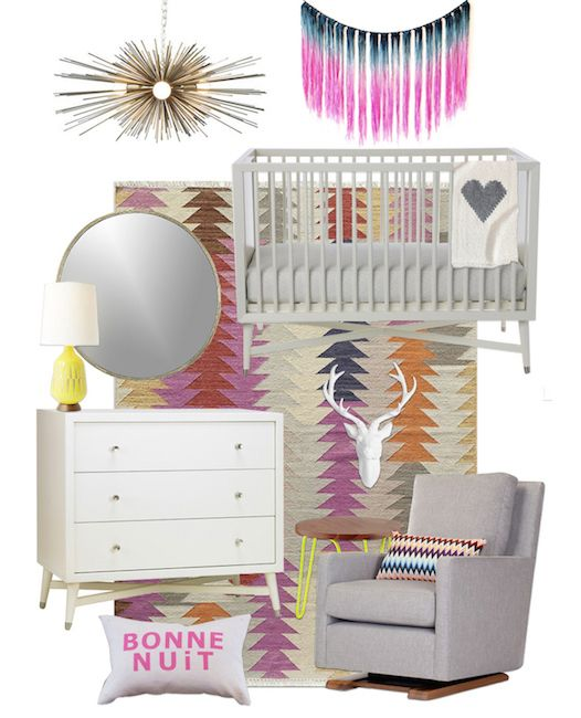 Girlu0027s Nursery E Design By Little Crown Interiors