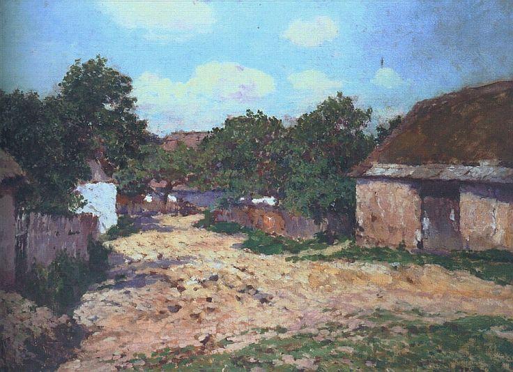 The Athenaeum - Sultry Day (Antonín Slavíček - )
