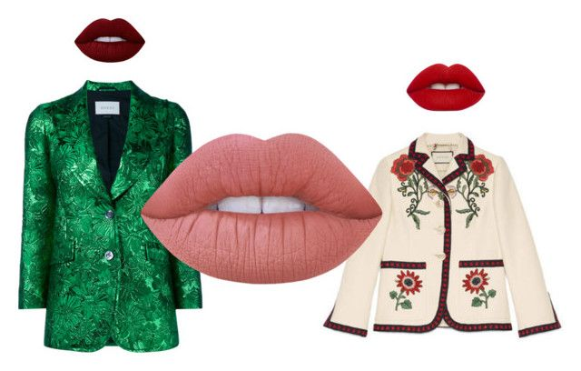 Gucci x Kylie by creaturesoftweed on Polyvore featuring polyvore fashion style Gucci Lime Crime clothing