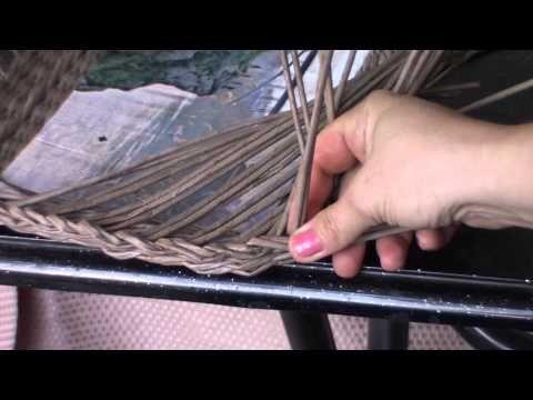 Плетеная рамочка с загибкой «Мирахелька». Часть 3.1. - YouTube
