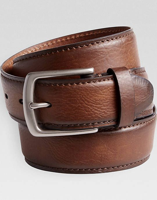 Levi's® Brown Leather Belt - Mens Belts & Suspenders, Accessories - Men's Wearhouse