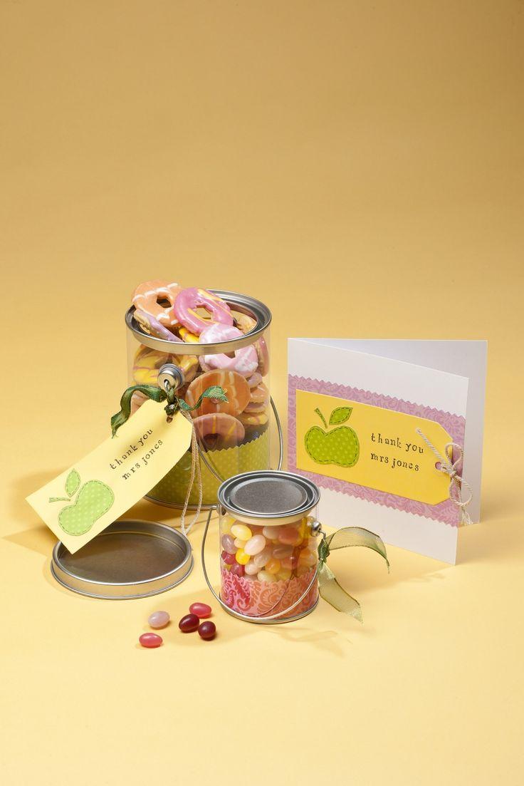 How to Make an Apple Gift Set #thankyouteacher