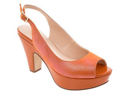 Tosoni at #Spitz - Retro Platform Peepsling - Women's Shoes #SS14
