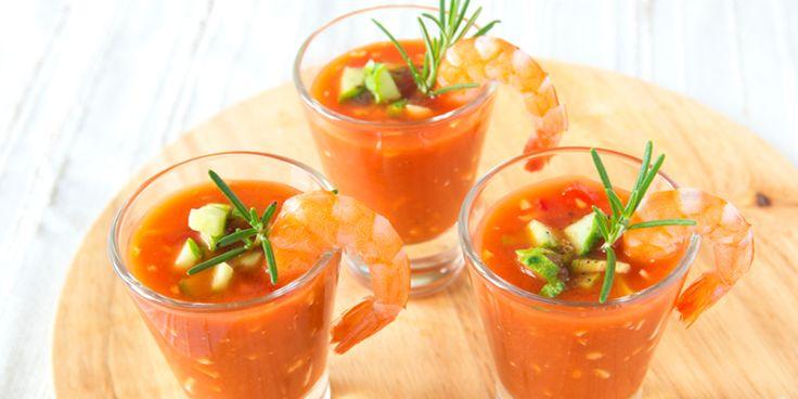 Voedzaam, verkoelend en ook nog eens heel lekker. Dat is gazpacho, een koud soepje dat in Spanje als voorgerecht wordt…