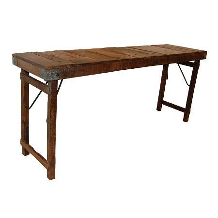 Bureau industrieel hout