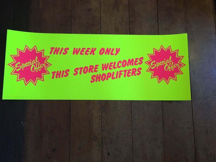Jamie Reid, This Week Only Original Rare Silkscreened Blacklight Poster by RockPostersTreasures on Etsy