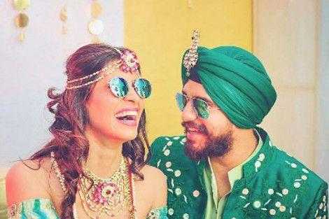 Kishwar Merchant Wedding Images