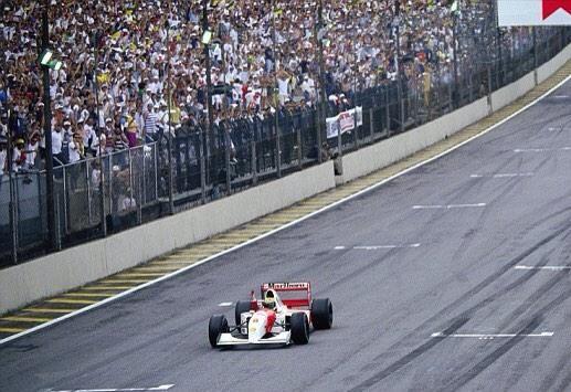Ayrton Senna, GP Brasil, 1993