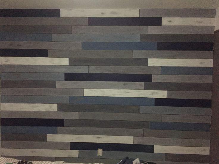 Simulación de madera en pared