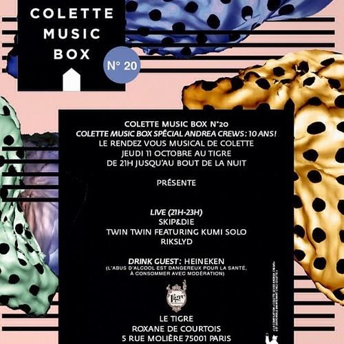 colette music box