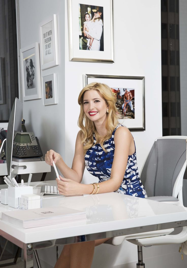 """Thank God: Ivanka Trump Is Redefining the Idea of the """"Working Woman""""  - MarieClaire.com"""