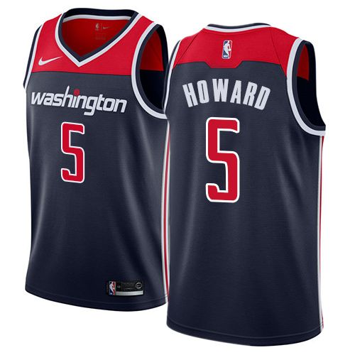 Nike Women s Juwan Howard Navy Blue Authentic Jersey - Washington Wizards   5 Statement Edition NBA fee97d0c29