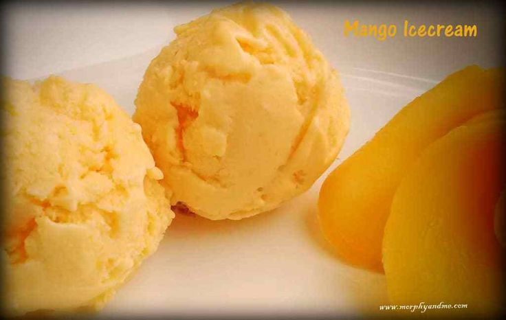 Easy, home made 3 ingredient mango ice-cream. A perfect way to enjoy the king of fruits this summer. Try this no-churn ice cream today