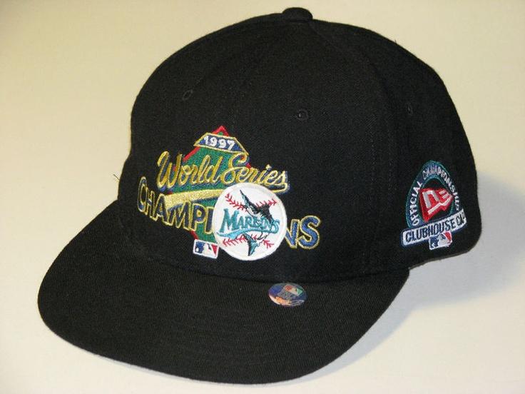 NewEra Florida Marlins 1997 World Series snapback