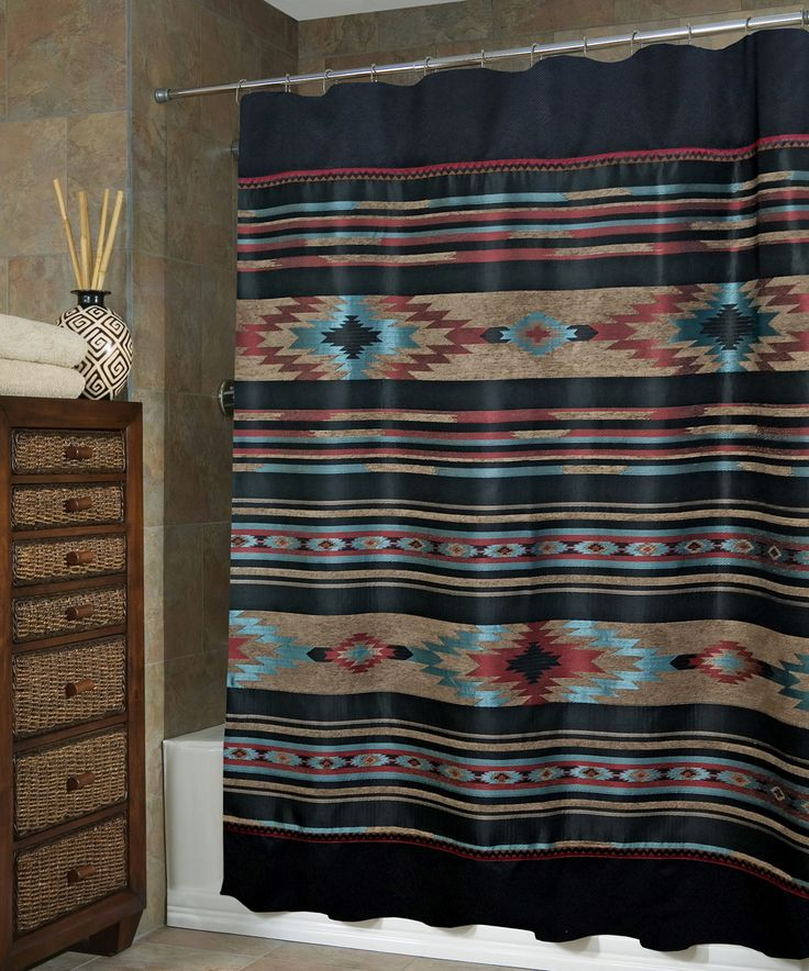 Red River Southwestern Shower Curtain