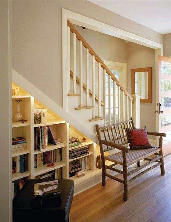 under stairs bookshelves storage solutions and design ideas
